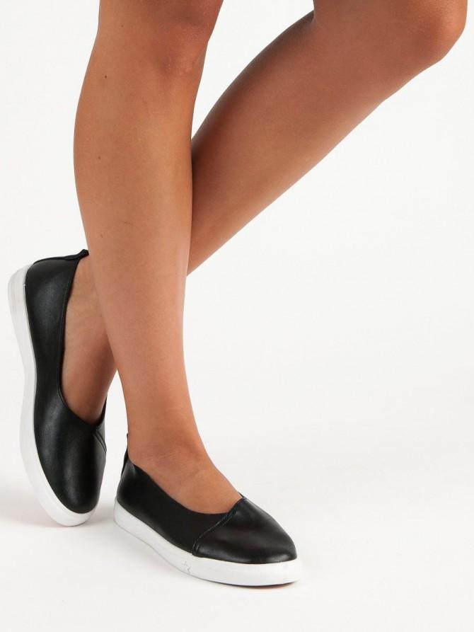 52976 - Czasnabuty superge, nizki čevlji crna barva