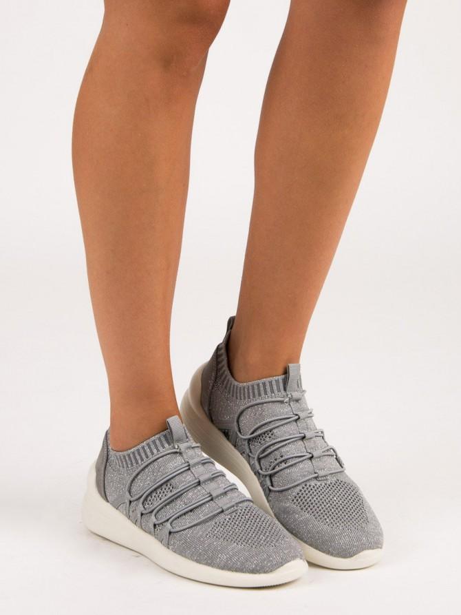 53073 - Kylie superge, nizki čevlji siva/srebrna barva
