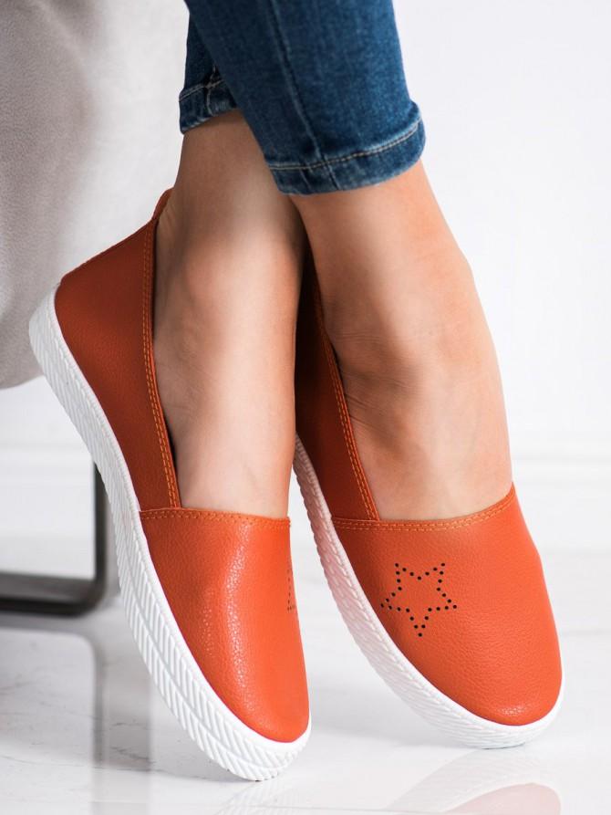 58893 - Kylie superge, nizki čevlji oranzna barva