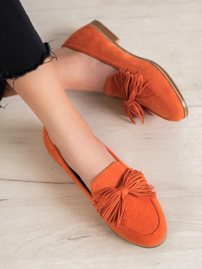 64407 - Seastar balerinke, espadrile oranzna barva