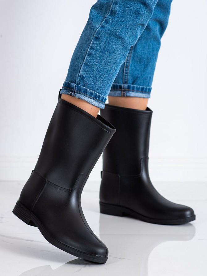 71794 - Shelovet Škornji za dež crna barva