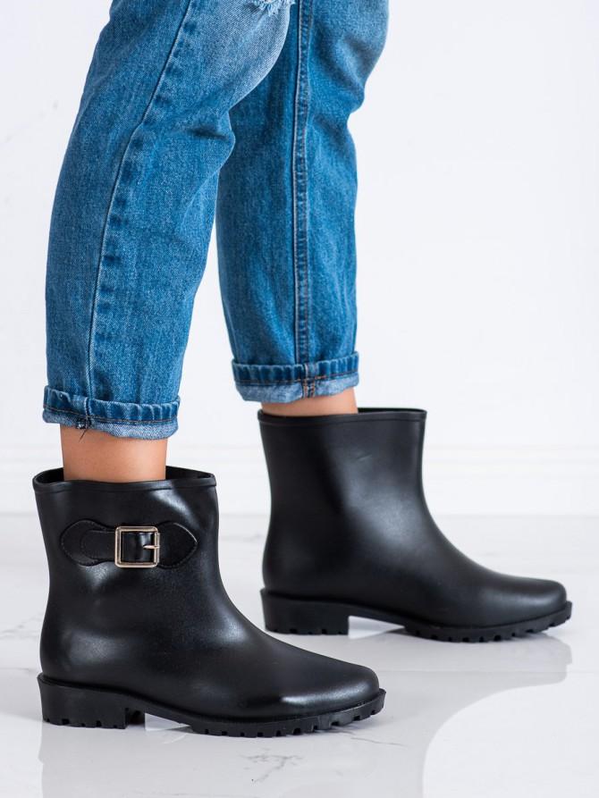 71816 - Shelovet Škornji za dež crna barva