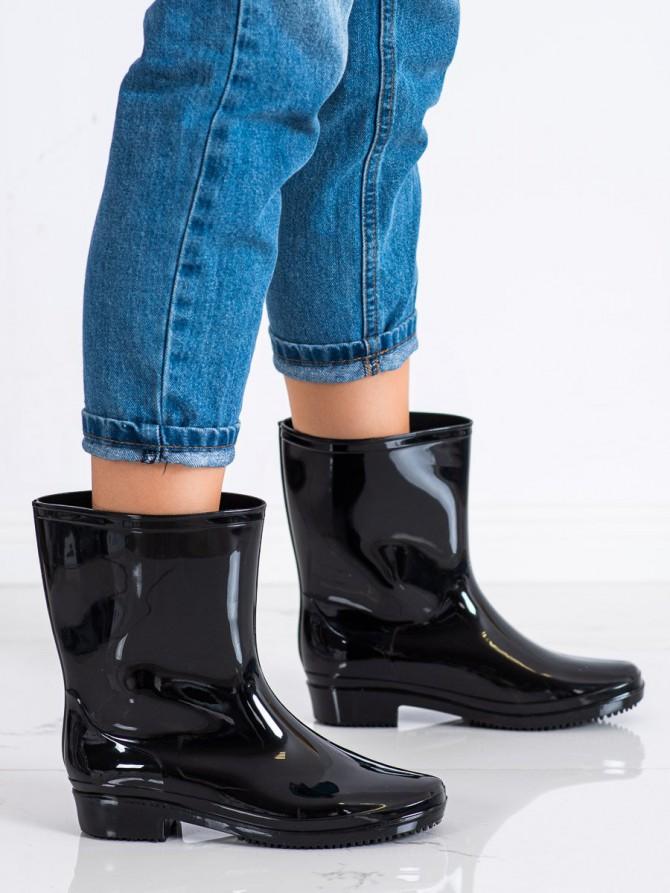 71844 - Shelovet Škornji za dež crna barva