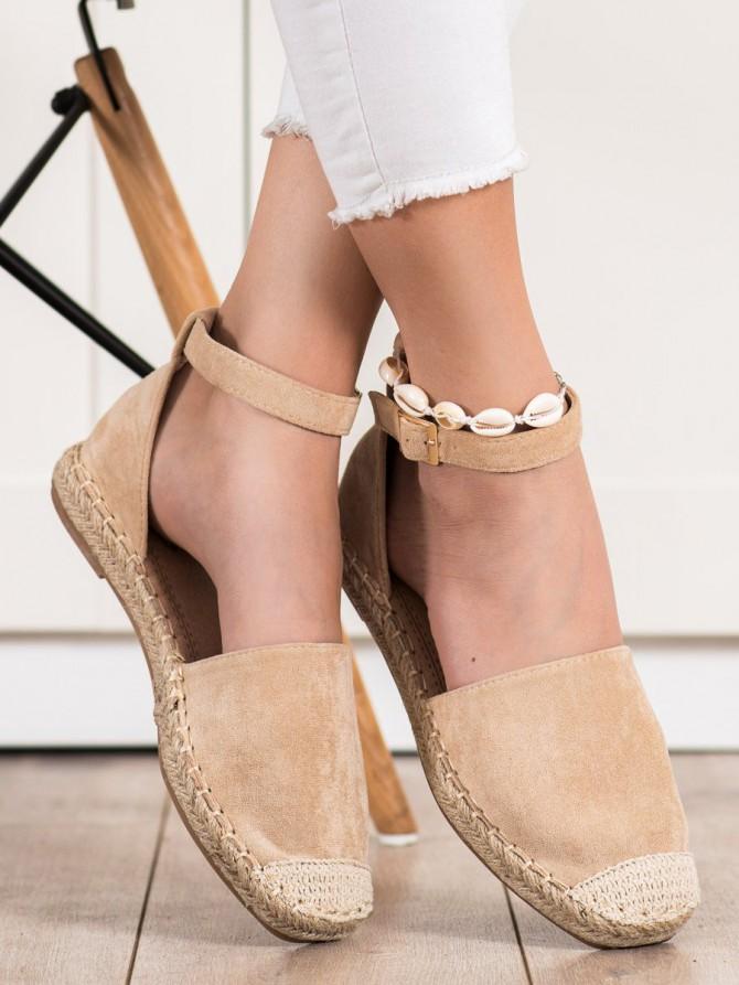 72350 - Small swan nizki elegantni čevlji rjava/bez barva