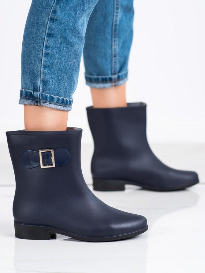 72430 - Shelovet Škornji za dež modra barva