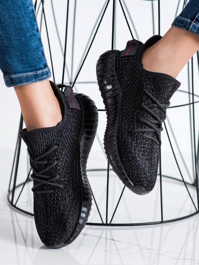 72479 - Shelovet superge, nizki čevlji crna barva