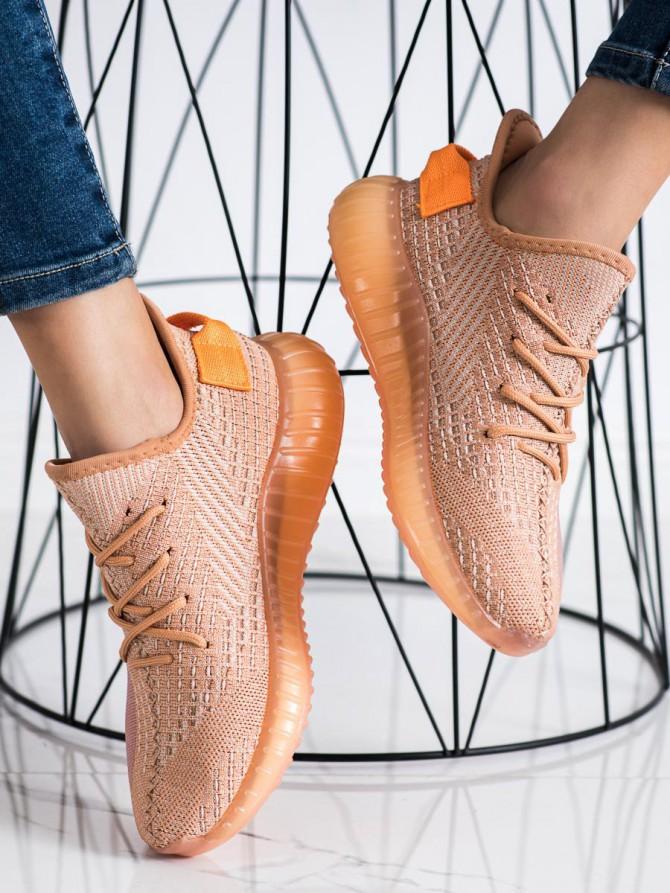 72480 - Shelovet superge, nizki čevlji oranzna barva