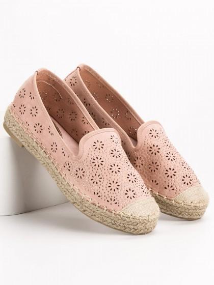 58487 - Vices balerinke, espadrile roza barva