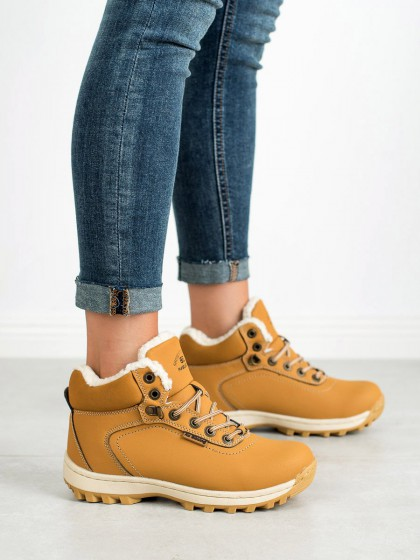 60944 - Ax boxing treking čevlji rumena/zlata barva