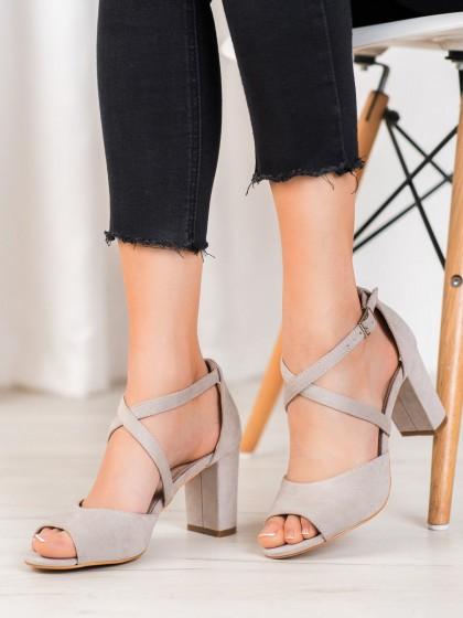 64562 - Vinceza sandali siva/srebrna barva