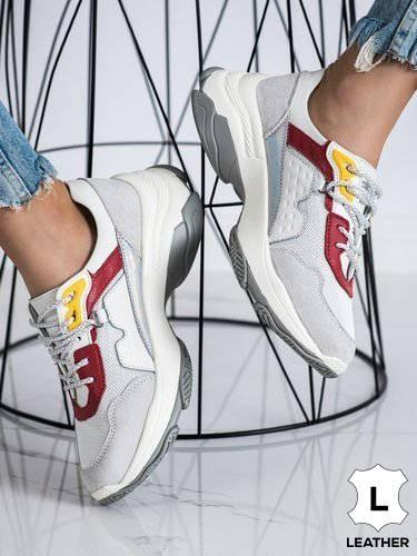 64806 - Goodin superge, nizki čevlji bela barva