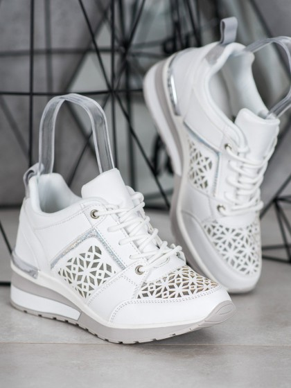 65070 - Kylie superge, nizki čevlji bela barva
