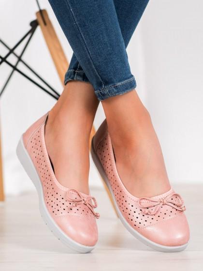 65400 - Shelovet balerinke, espadrile roza barva