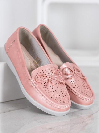 65405 - Shelovet mokasinke roza barva