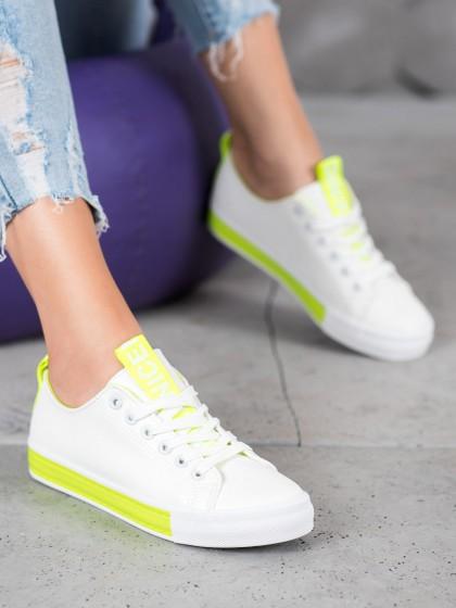 65961 - Bestelle superge, nizki čevlji bela barva