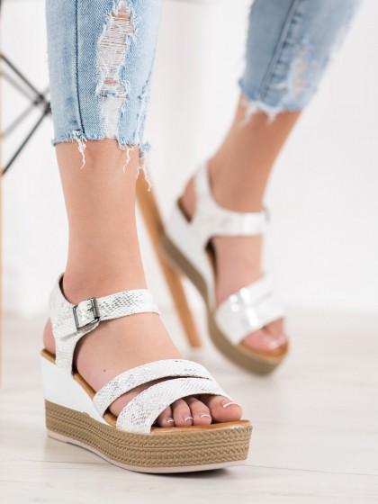 66036 - Sea elves sandali bela barva