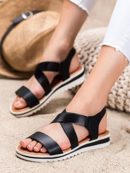 66502 - Weide sandali crna barva