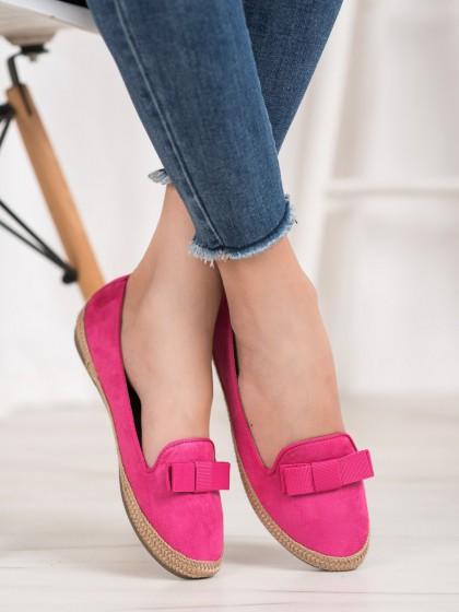 66924 - Vinceza balerinke, espadrile roza barva