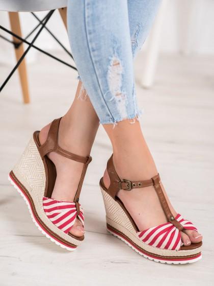 67024 - Shelovet sandali rdeca barva