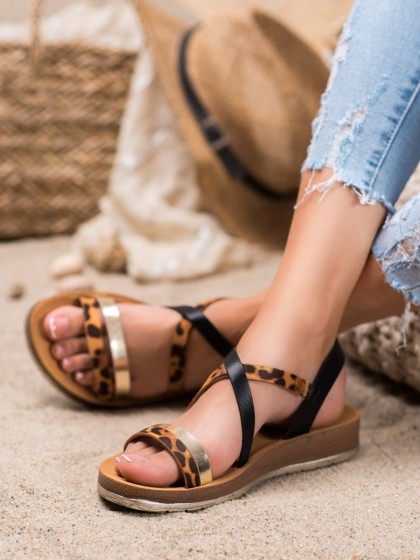 67110 - Shelovet sandali crna barva