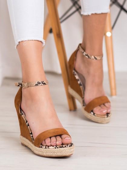 67419 - Goodin sandali rjava/bez barva