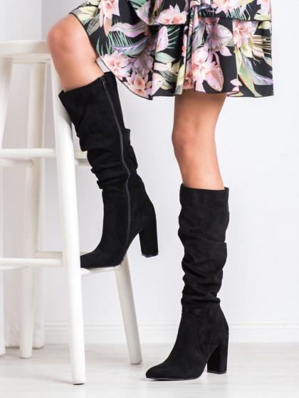 68522 - Goodin visoki škornji crna barva