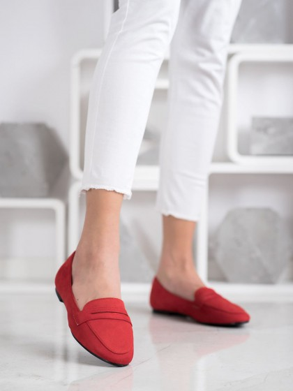 69905 - Goodin balerinke, espadrile rdeca barva