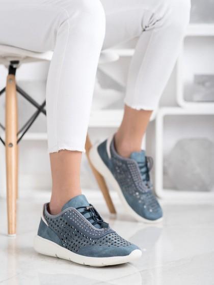 69908 - Aclys superge, nizki čevlji modra barva