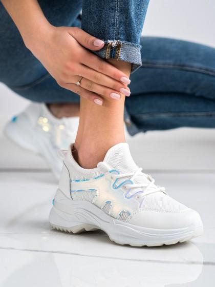 70110 - Shelovet superge, nizki čevlji bela barva