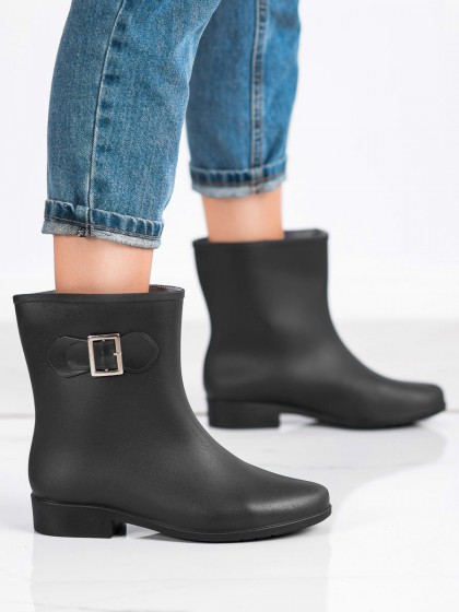 70304 - Shelovet Škornji za dež crna barva