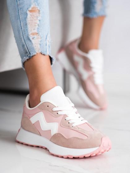 70533 - Shelovet superge, nizki čevlji roza barva