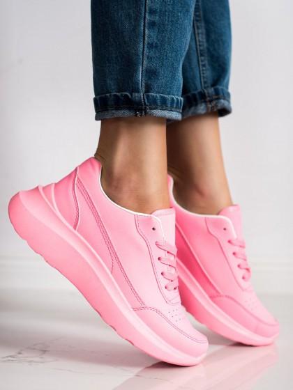 70576 - Shelovet superge, nizki čevlji roza barva