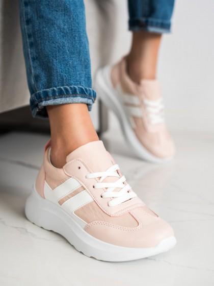 70582 - Shelovet superge, nizki čevlji roza barva