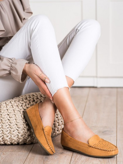 70793 - Best shoes mokasinke rjava/bez barva