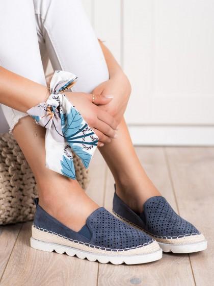 70811 - Shelovet superge, nizki čevlji modra barva