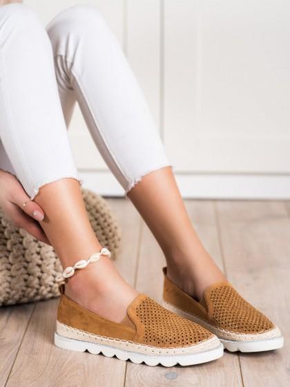 70814 - Shelovet superge, nizki čevlji rjava/bez barva