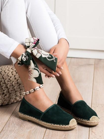 70909 - Kayla superge, nizki čevlji zelena barva