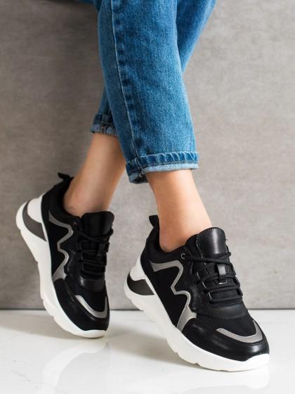 70945 - Weide superge, nizki čevlji crna barva