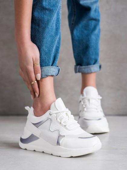 70946 - Weide superge, nizki čevlji bela barva