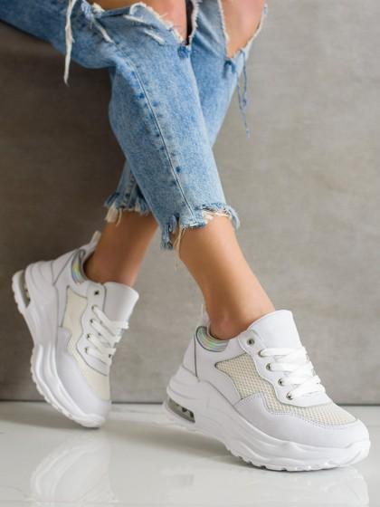 70960 - Weide superge, nizki čevlji bela barva