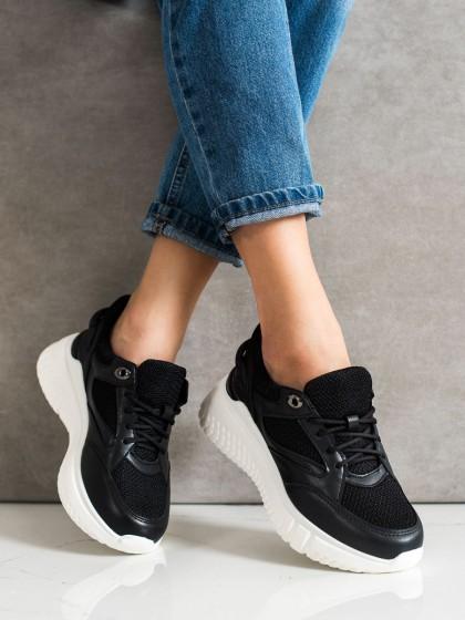 70963 - Weide superge, nizki čevlji crna barva