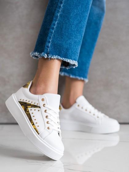 71078 - Shelovet superge, nizki čevlji bela barva