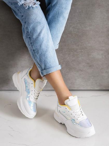 71080 - Shelovet superge, nizki čevlji bela barva
