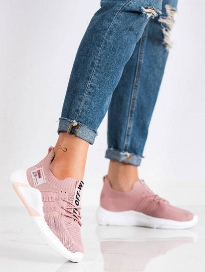 71087 - Artiker superge, nizki čevlji roza barva