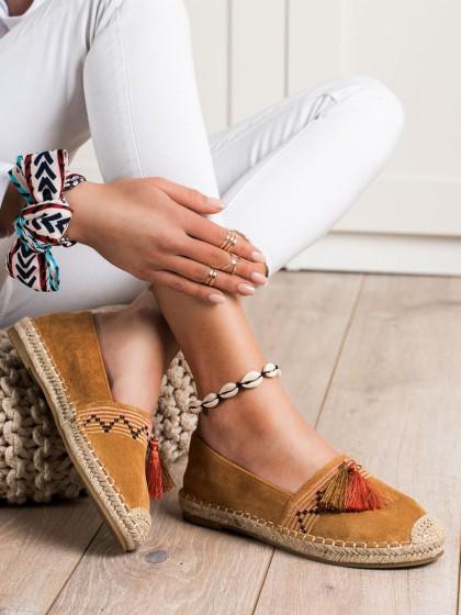 71125 - Best shoes superge, nizki čevlji rjava/bez barva