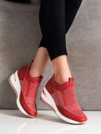 71129 - Artiker superge, nizki čevlji rdeca barva