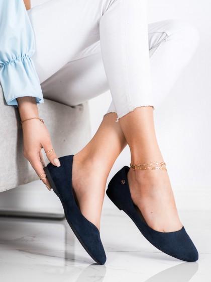 71132 - Sergio leone balerinke, espadrile modra barva