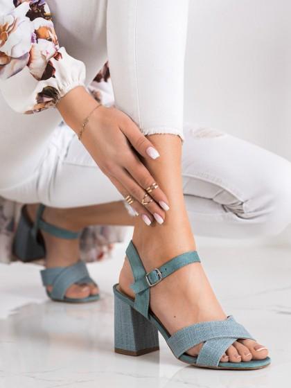 71433 - Vinceza sandali zelena barva