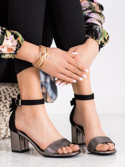 71453 - Vinceza sandali crna barva