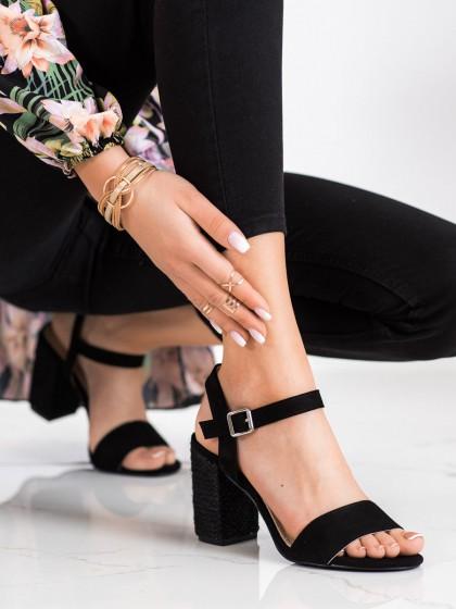 71469 - Vinceza sandali crna barva